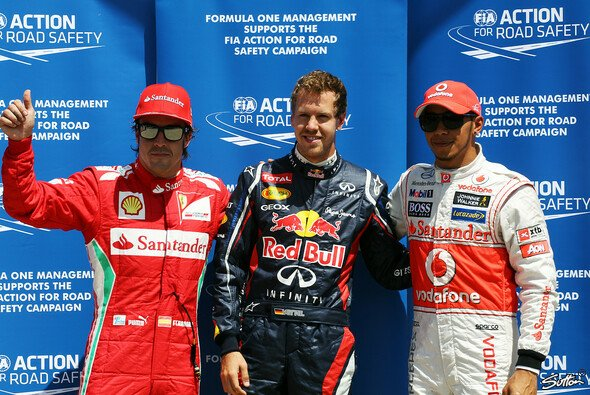 Lewis Hamilton sieht Fernando Alonso leicht besser als Sebastian Vettel