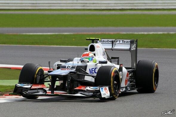 Sergio Perez ärgerte sich über Unfall-Gegner Maldonado - Foto: Sutton