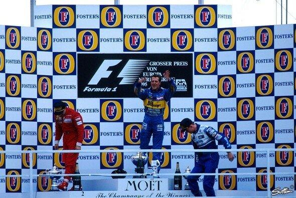 Ein Sprung für die Ewigkeit: Michael Schumacher 1995