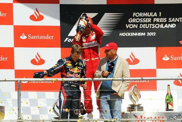 Niki Lauda hält Sebastian Vettel und Fernando Alonso für Giganten