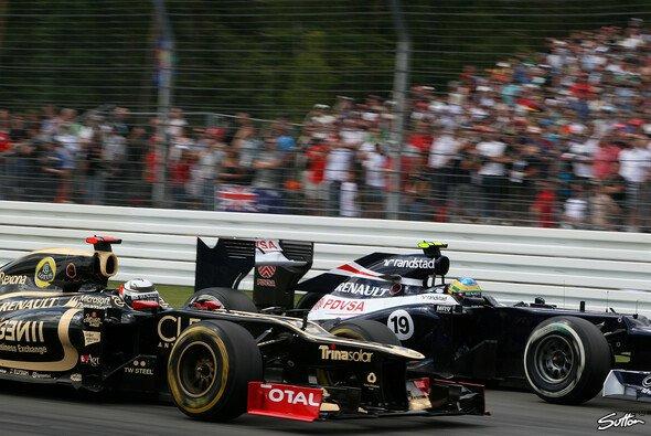 Während Lotus mit Kimi Räikkönen zuletzt das Doppel-DRS ausprobierte geriet Williams in Hockenheim ins Hintertreffen: Für Mark Gillan ein erstes Warnsignal