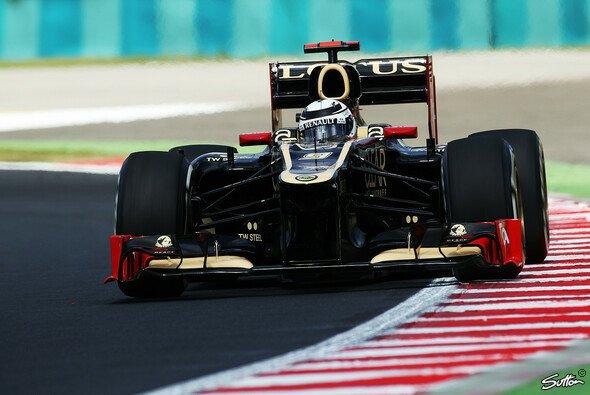 Kimi Räikkönen kann optimistisch in den Samstag gehen - Foto: Sutton