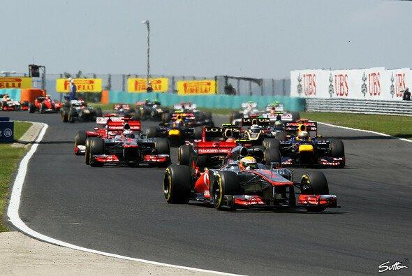Lewis Hamilton hat in Ungarn triumphiert