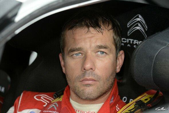 Sebastien Loeb musste seinen DS3 abstellen