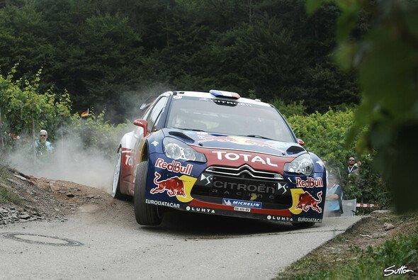 Sebastien Loeb kann den Sieg am Sonntag nach Hause fahren