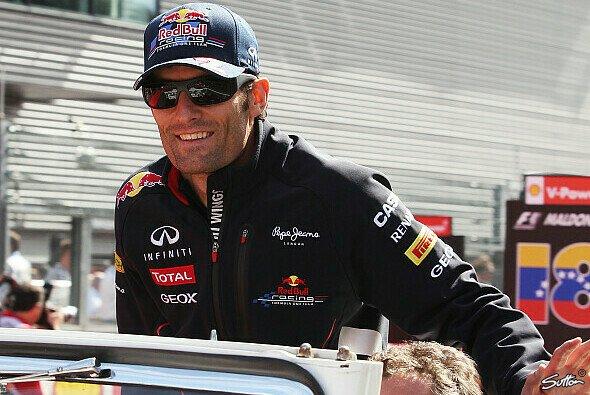 Mark Webber glaubt an einen Lerneffekt durch die Rennsprerre von Romain Grosjean - Foto: Sutton