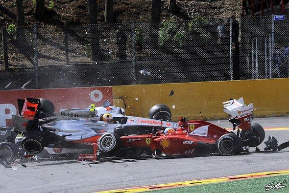 In La Source gab es kein Entkommen: Alonso hatte einfach Pech