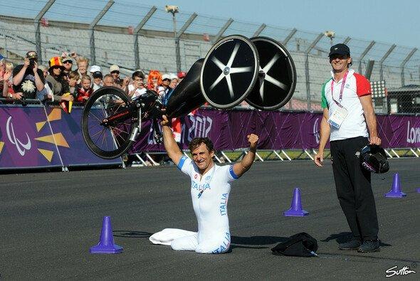 Alex Zanardi holte zweimal Gold bei den Paralympics