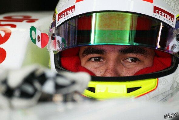 Sergio Perez fuhr 2013 dreimal aufs Podium