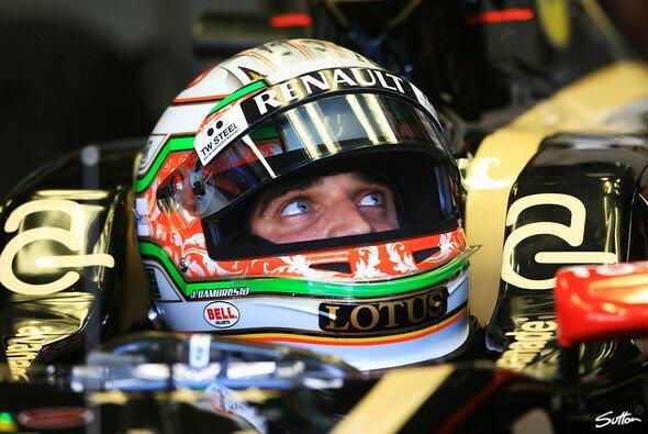 Eric Boullier war mit Jerome d'Ambrosios Auftreten in Monza glücklich
