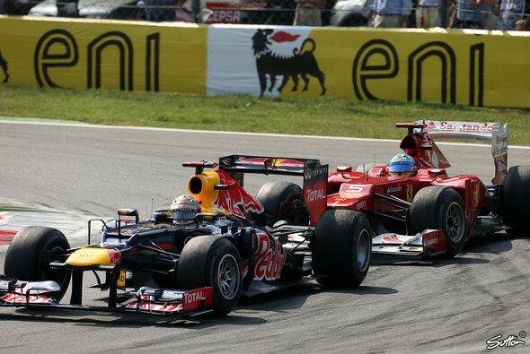 Ferrari versucht mit allen Mitteln zu Red Bull aufzuschließen - Foto: Sutton