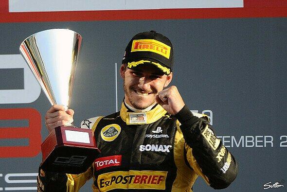 Daniel Abt fährt 2013 in der Formel-1-Talentschmiede GP2