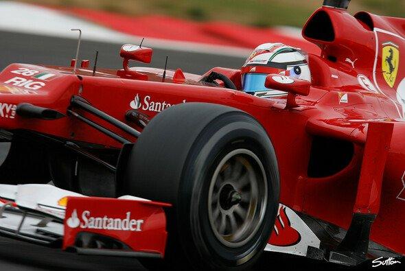 Davide Rigon durfte ein paar neue Ferrari-Teile testen