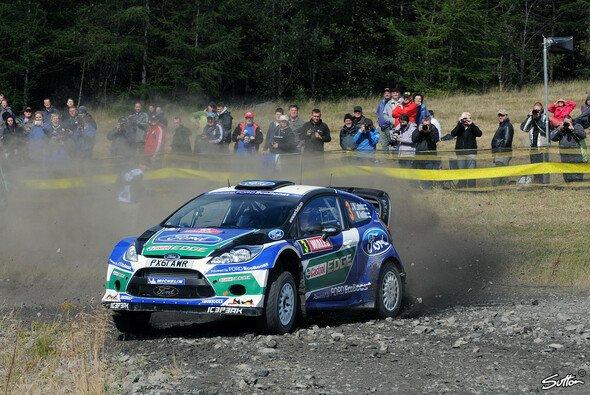 Jari-Matti Latvala arbeitete sich auf Rang eins nach vorne