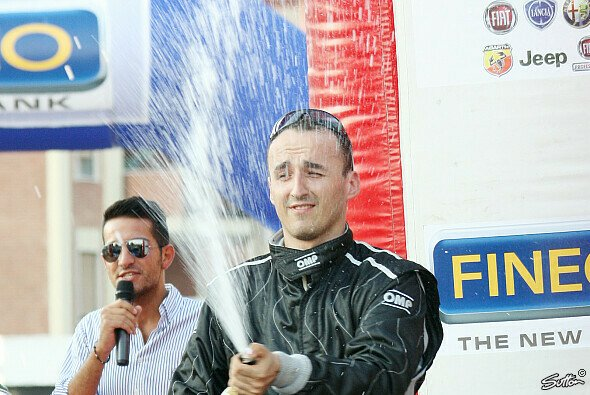 Nach seinen zwei Siegen blickt Robert Kubica optimistischer auf die Zukunft