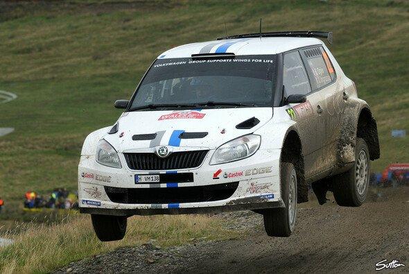 Sebastien Ogier und die Rallye Wales sind noch keine Freunde geworden - Foto: Sutton