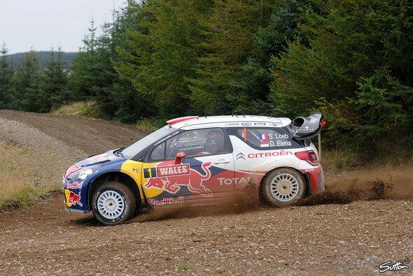 Citroen arbeitete in den walisischen Wäldern am Setup des DS3 WRC
