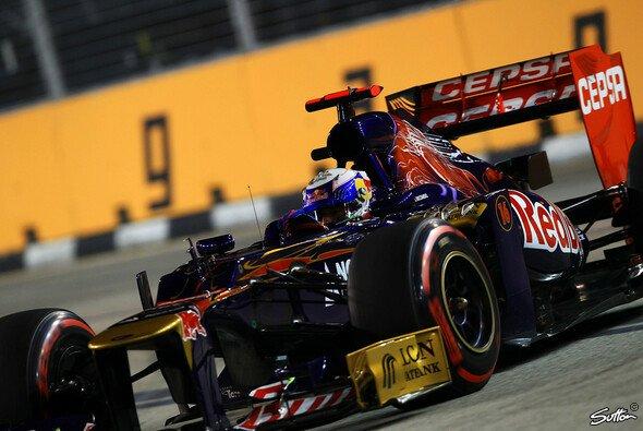 Jean-Eric Vergne und Daniel Ricciardo erzielten über Nacht gute Fortschritte