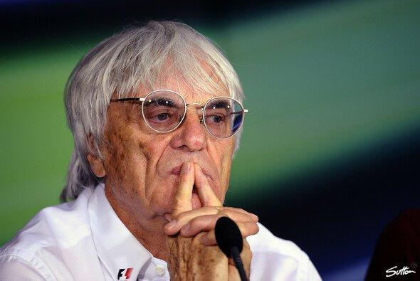 Bernie Ecclestone ist hoffnungsvoll für das Rennen auf dem Nürburgring