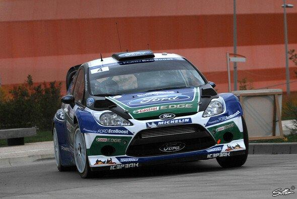 Weit kam Petter Solberg am zweiten Tag der Rallye Frankreich nicht