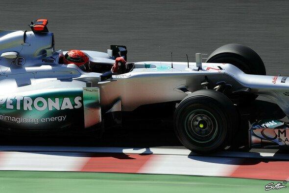 Es sollte nicht sein: Punkte blieben Michael Schumacher in Japan verwehrt