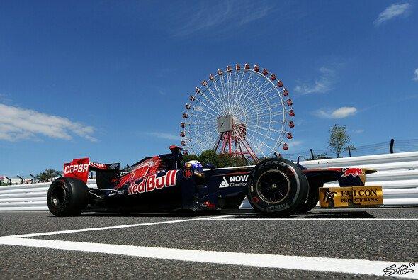 Bei der Qualifying Pace sehen die Toro Rosso-Piloten noch Verbesserungspotential beim STR7