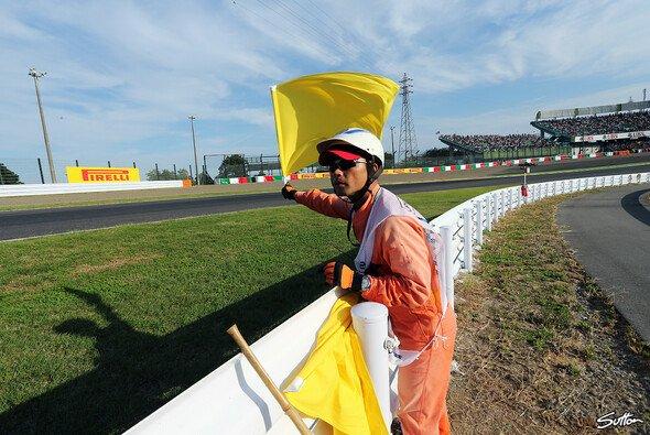 Rundenzeiten bei doppelt geschwenkter gelber Flagge könnten bald ausnahmslos ungültig sein - Foto: Sutton