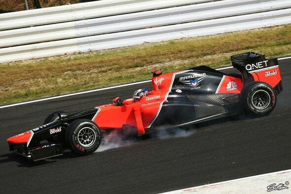 Timo Glock beendete den Japan GP auf Rang 16