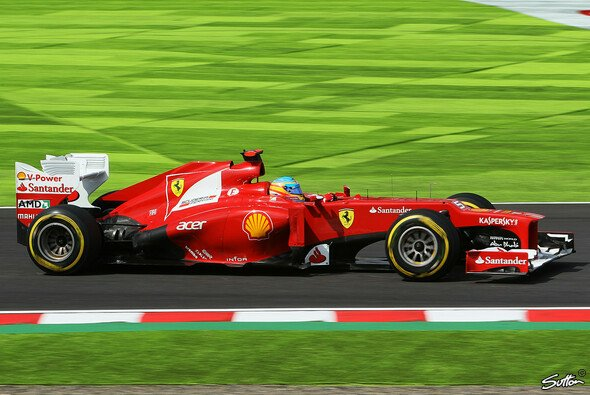 Christian Danner sieht Ferrari in Suzuka im Mittelmaß - Foto: Sutton