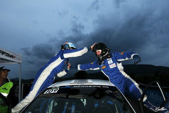 Elfyn Evans gewann den WRC Academy Cup - Foto: Sutton