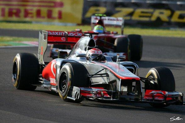 Jenson Buttons Getriebe bereitete McLaren die ein oder andere Sorge