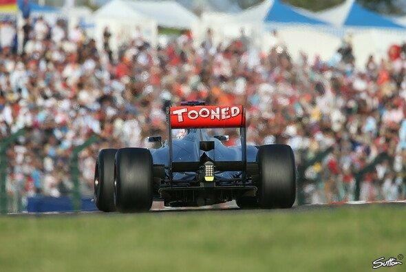 Button will in Korea den Gegnern das Heck seines McLaren zeigen