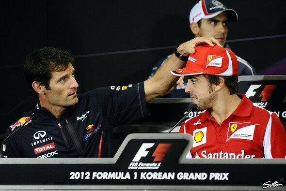 Mark Webber findet lobende Worte für Fernando Alonso