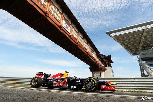 Tagesbestzeit für Sebastian Vettel am Freitag in Yeongam - Foto: Sutton
