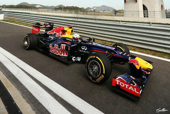 Sebastian Vettel sucht die Schuld für P2 bei sich - Foto: Sutton