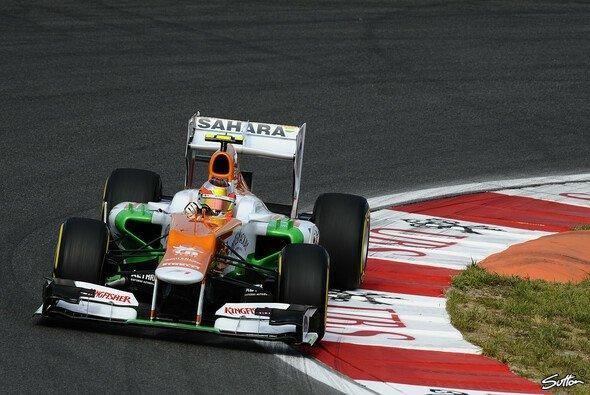 Jules Bianchi konnte im Force India schon F1-Luft schnuppern