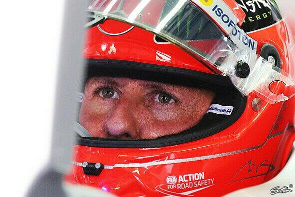 Michael Schumacher genießt jedes Rennen