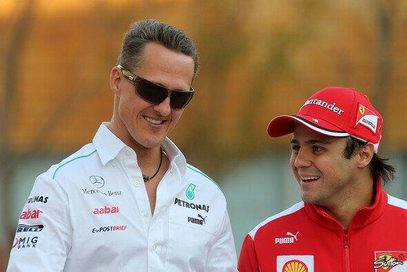 Schumacher und Massa verstanden sich immer gut