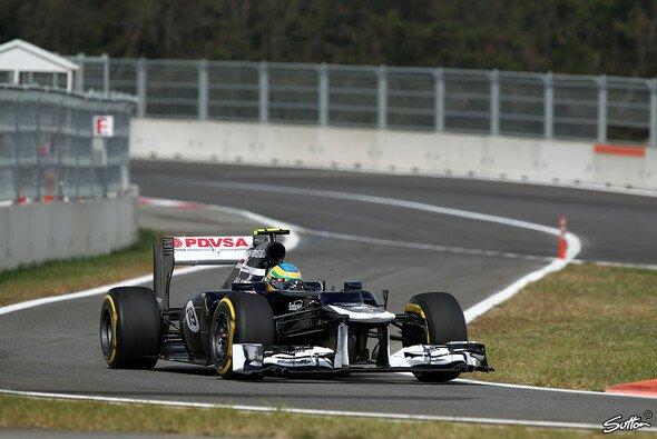 Bruno Senna erlebte ein schwieriges Rennen in Korea