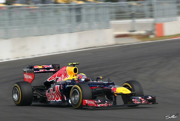 Dass Mark Webber auf Pole steht, ist eine kleine Überraschung