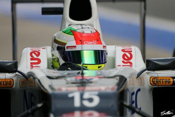 Sergio Perez fuhr in dieser Saison drei Podiumsplätze ein