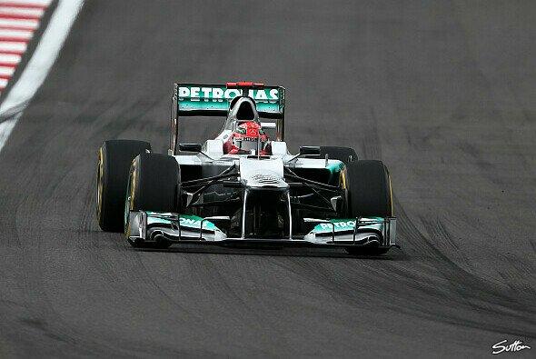 Michael Schumacher beendete den Korea GP auf der 13. Position