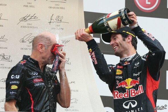 Mark Webber weiß Adrian Newey zu schätzen