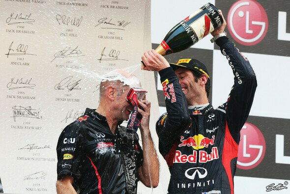 Mark Webber weiß, was er an Adrian Newey hat