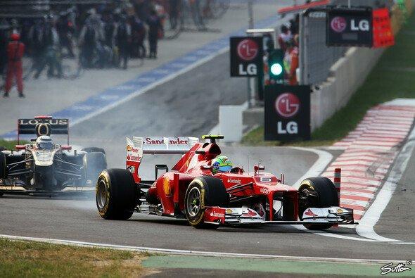 Felipe Massa ließ sich an der Box nicht überrumpeln