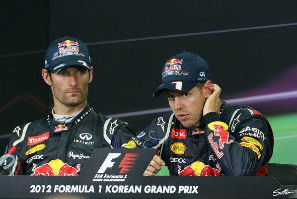 Mark Webber muss nicht für Sebastian Vettel bremsen
