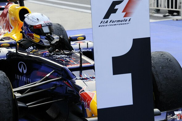 Die 1 stand zuletzt häufiger vor Sebastian Vettels Auto