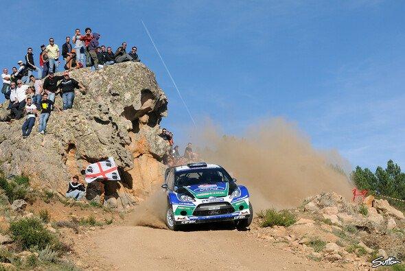 Solberg ist nach Loeb und Latvala auch aus der Rallye
