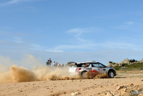 Thierry Neuville hatte sich für die Rallye Sardinien mehr vorgenommen - Foto: Sutton