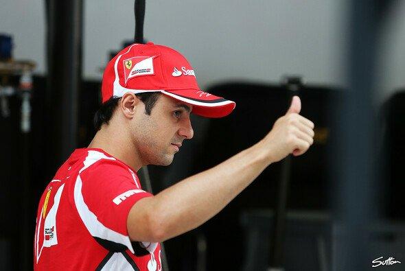 Felipe Massa blickt der Zukunft optimistisch entgegen
